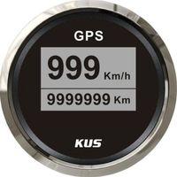 Wholesale 52mm Black Digital GPS speedometer for car CCSR BS SV KY08041