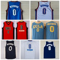 uniform shirts - Newest Russell Westbrook Jersey Shirt UCLA Bruins Russell Westbrook College Uniforms Throwback Christmas Home Road Blue White Orange