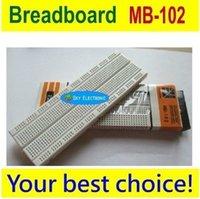 Wholesale x Breadboard Point Solderless PCB Bread Board MB MB102 For Test Develop DIY
