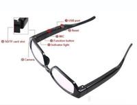 Wholesale cheap HD Mini Digital Camera New Spy Glasses Camera Mini recorder Spy Cam HD Eyewear Video Recorder Hidden Camcorder DVR