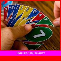 Wholesale English version UNO H2O board game waterproof version card game