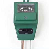 Wholesale High Quality Soil Water Moisture PH Tester for Garden Plant Flower in Light Test Meter