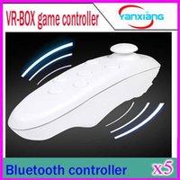 5PCS Universal Bluetooth Télécommande sans fil joystick Gamepad Souris Mini sans fil pour Samsung Android VR 3D Box Jeux YX-BOX-V
