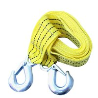 Wholesale New Arrival Tons Car Tow Cable Towing Strap Rope with Hooks Emergency Heavy Duty CM Ap21