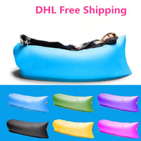 camping chairs - 1pcs Fast Infaltable Sleep Bag Lamzac Hangout same as lamzac Lounge Chair Air Sofa sleep bag DHL free