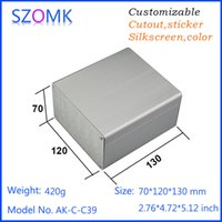 aluminum extrusion dies - 1 pc mm silvery aluminum case die cast aluminum box aluminum enclosure extrusions for box distribution enclosure AK C C39