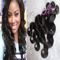 Wholesale 8A Cuticle Brazilian Hair Bundles Malaysian Indian Peruvian Hair Weave inch Body Wave Natural Color Human Hair Extensions