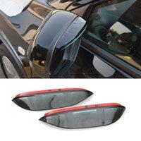Wholesale 2016 Car Styling PET Rearview Mirror Rain Blades Car Back Mirror Eyebrow Rain Cover Protector For HONDA HRV VEZEL