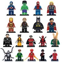 bag collection - Super hero toy iron man iron man assembled building blocks of a variety of bags A collection of building blocks
