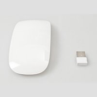 Wholesale MF Mini Wireless G USB Multi Touch Button Clever Clever Optical Magic Mouse for Tablet PC Laptop Computer with Micro receiver