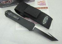 Cheap Drop shipping Microtech Troodon A162 knife pocket knife tactical knives survival knives camping knife with original box & nylon sheath