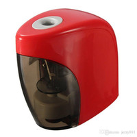 Wholesale Touch Switch Electric Automatic Batteries Sharpeners Auto Pencil Sharpener For Home Office School Stationery Supplies