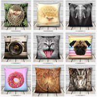 Wholesale 2016 Fashion Bedding Room Pillow Case Cute Case Home Decor Pillow Cover Home Living
