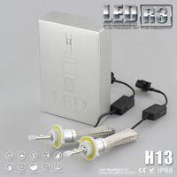 Wholesale R3 H13 LED Headlight CREE XHP LED Conversion Headlight Bulbs K W LM white light Car Auto Kit lamp Plug Play