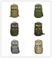 Wholesale Camouflage backpack fans P Tactical Backpack Men s Out door Canvas Backpack Big capacity Black Tactical Backpacks Camping Camouflage Backp