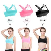 Wholesale LIXADA Women s High Impact Full Coverage Wire Free Run Sports Bra for Yoga Gymnastics DHL Y2495