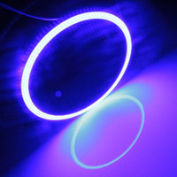 Wholesale Super bright high quality car led angle eyes mm cob led light V led car light for headlight