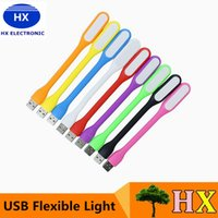 Wholesale New fashion design Xiaomi USB LED Light style Flexible Silicone USB Light For Power Bank Computer Colors