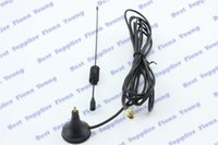 Wholesale Small Suction Cup dBi MHz GSM Antenna with m RG174 Cable SMA Male Connector GSM Antenna