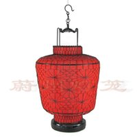 antique lantern lights - Classical light iron wire lantern handmade knitted antique lantern customize lantern