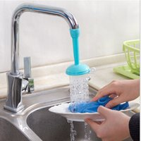Wholesale Hot Creative Kitchen Tap Shower Water Hippo Rotating Spray Tap Water Filter Valve Save Water Shower Kitchen Bathroom Tool