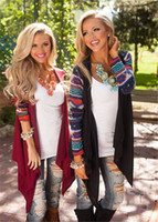air condition panel - Hot New Fashion Aztec sleeve women Cardigan Female Long Asymmetrical casual Cardigans Air conditioning Shirts