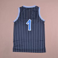 Wholesale Penny Hardaway White Black Baskeball Jersey Sports wear Replica embroidered LOGO