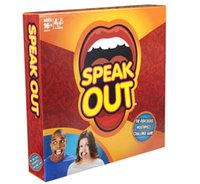 Wholesale In stock Speak Out Games Ridiculous Mouthpiece Challenge Game game for your mouthpiece with paper cards