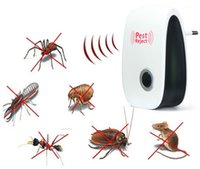 Wholesale Multi use Electronic Pest Repeller Pest Control Ultrasonic Rejector for Mouse Bug Mosquito Insect EU Plug w