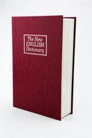 Wholesale Decorative fake dictionary safe box mini diversion cheap book safe