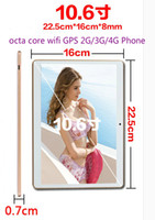 Wholesale 10 inch wifi tablet android core processors IPS screen2560 G GB storage G G GPhone dual SIM card call GB memory card