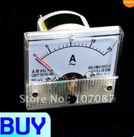 Cheap Wholesale-Free shipping AC 0- 20A Analog Ampere Panel Meter Current Amp Ammeter