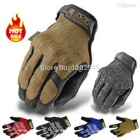 Wholesale Mechanix Wear Super Original superNavy Seals Military Tactical Gloves Army Motorcycle Racing Bicycle Cycling Full Finger Gloves