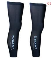 Wholesale New brand outdoor Mountain Bike Cycling Leg Sleeve knee warmer MTB Ciclismo Bicycle Cycling Leg Warmers Black For Men Women