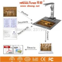 Wholesale Promotional hot item DN portable MP document camera scanner Free Shipment d object scanner d laser scanner