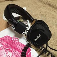 computer monitors - Marshall Major Headset With Mic Deep Bass DJ Hi Fi Headphones HiFi Earphones Professional DJ Monitor Headphones