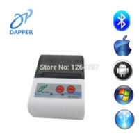 Wholesale DHL mm Mobile Bluetooth Thermal Printer for Android and IOS DP HT201 Portable Bluetooth Printer