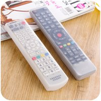 air conditioning wire - Silicone Storage bag organizer air conditioning TV remote control cover Dust waterproof Cover Protective Holder case bag