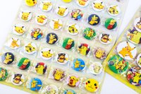Wholesale New Pikachu The elves ball cartoon Christmas brooch Christmas decorations Poke Ball kids lovely gifts B0547