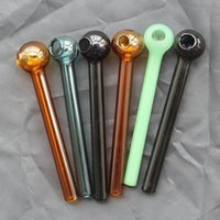 glass for lighting - Colored Glass Oil Burner Pipe Glass Oil Burner Tube Oil Pipe Glass Pipe Oil Nail Glass Oil Pipe Thick Colors for smoking