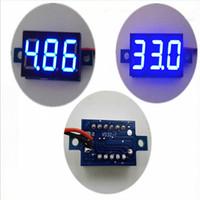 battery amp meter - LCD digital voltmeter ammeter voltimetro LED Amp amperimetro Volt Meter Gauge voltage meter DC free delivery