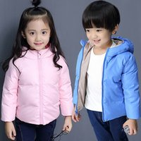 Wholesale Kids Jackets Coats Girls Winter Coat And Boys Jackets Children Outerwear Kids Down Parkas Thick Warm Baby Costume
