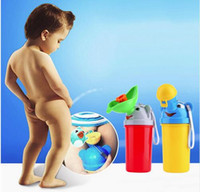Wholesale Retail Cute Baby Girl Boy Portable Urinal Travel Car Toilet Kids Vehicular Potty
