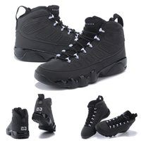 anthracite color - With shoes Box New Retro IX Anthracite White Black Hot Sale Men Casual Shoes