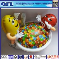 Wholesale Inflatable M M With Bowl For Advertising China Supplier