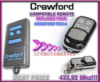 auto door replacement - Best price with new compatible replacement remote for CRAWFORD T433 remote control transimitter garage door openner mhz