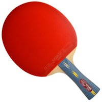 Wholesale A DHS E E402 double reverse grip racket sports type with cover single block