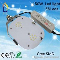 Wholesale 2016 hot LED Retrofit Kit bulb base W lm AC100 V for Meanwell driver cree chip tunnel outdoor lights streetlighting