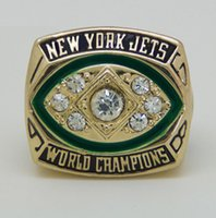 american jet set - 1968 American football New York Jet Sale Super Bowl Replica Championship ring material VIP STR0