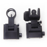 arms rear sight - Tactical Arms Gear Precision AR15 Flip Up Front and Rear Back up sight Flip Up Front Rear Backup Iron Sight Set